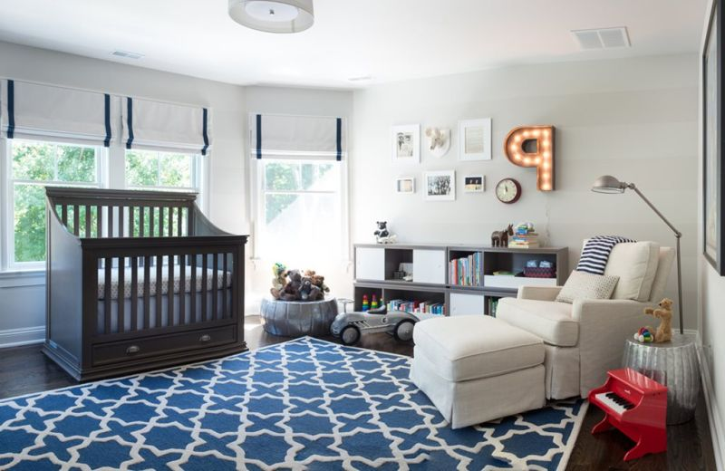 nursery for a boy from birth to 10 years old