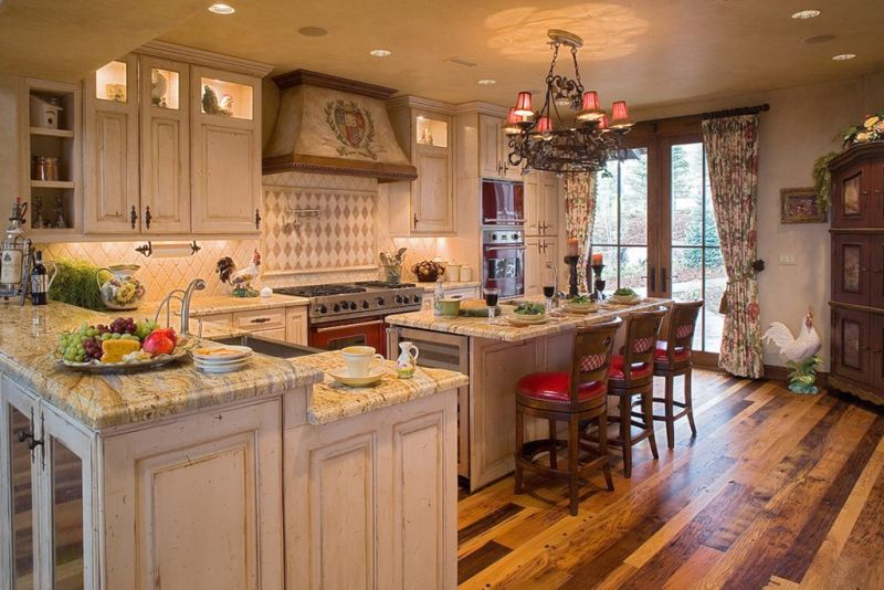 Countertops for the kitchen in the English style