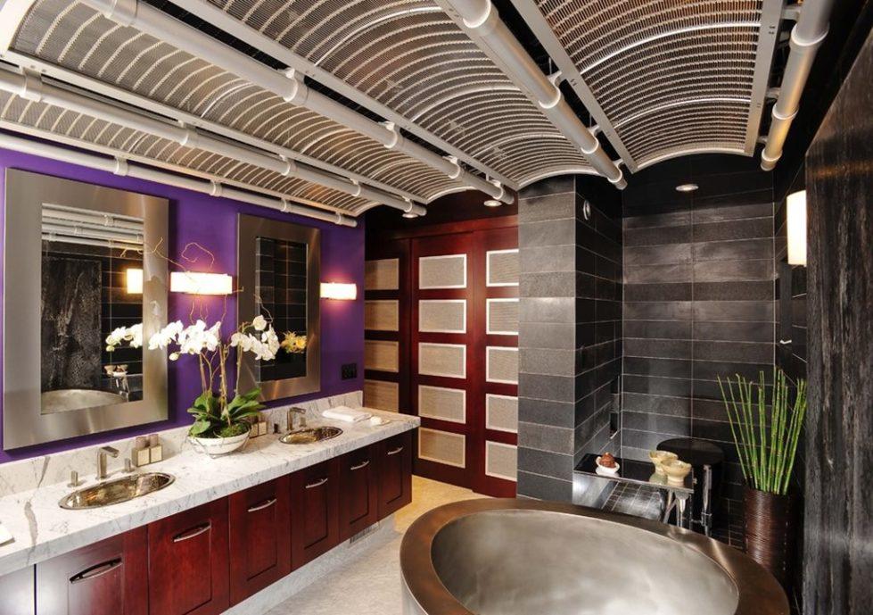 Fusion home design - bathroom