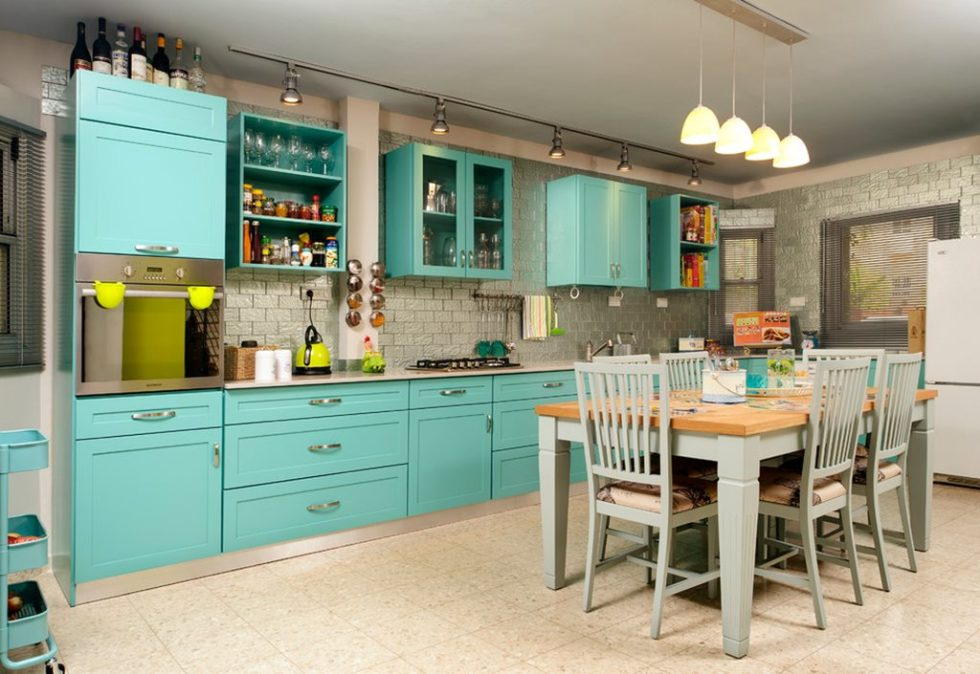 Fusion interior design - kitchen and dining room