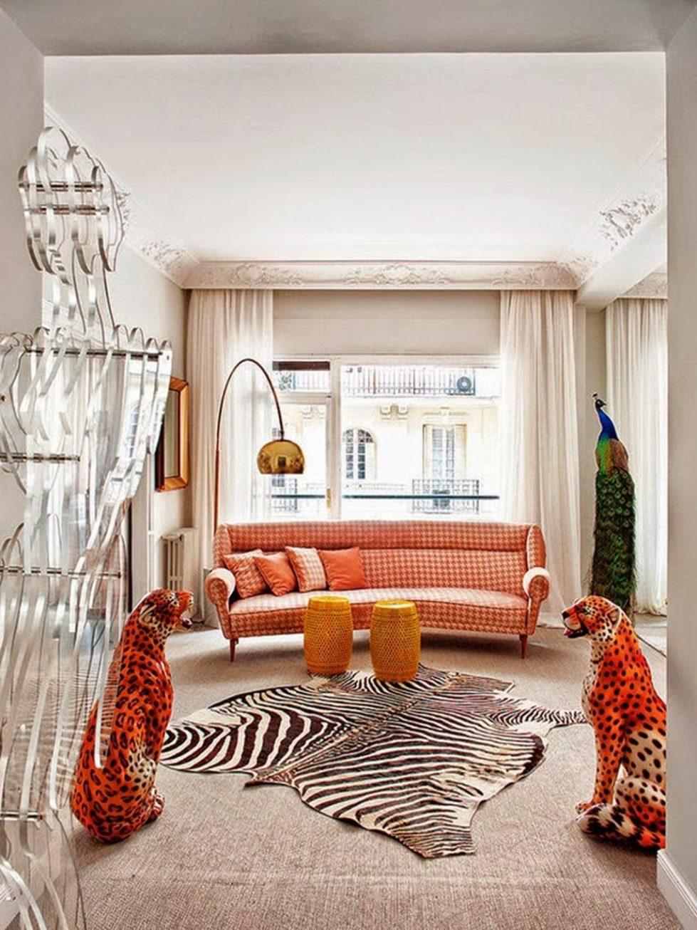 Fusion interior design - living room
