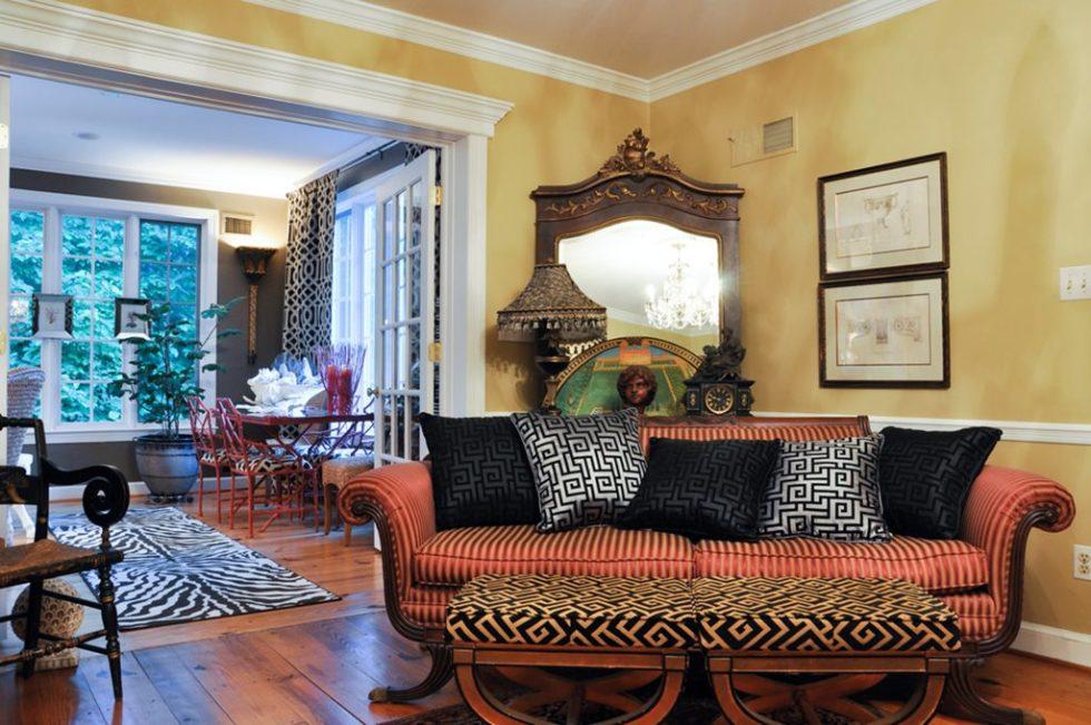 Fusion living room design