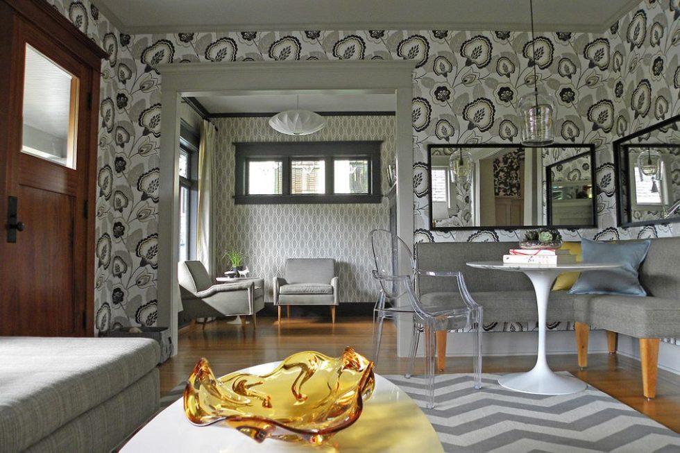 Fusion style interior design