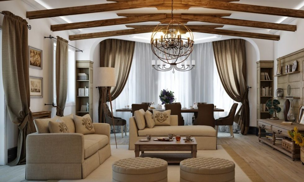 Living room - Country Style