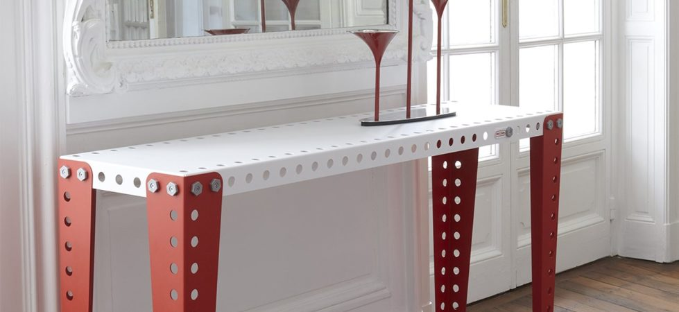 """""""Meccano"""" Furniture from the Creators of the Famous Construction Toys"""