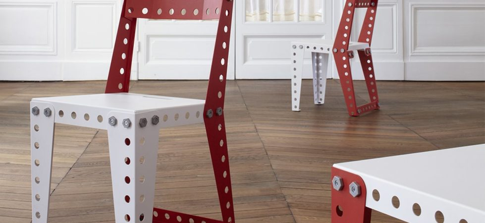 """Meccano"" Furniture from the Creators of the Famous Construction Toys"