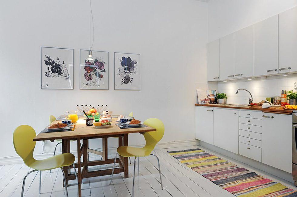 Scandinavian styleThree RoomApartment