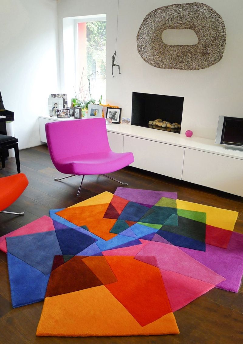 Suprematism in the Interior - Blossom of the Color