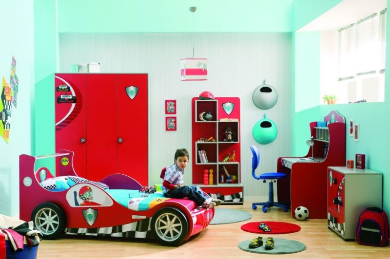 The Nursery for a Boy of 3-4 Years Old