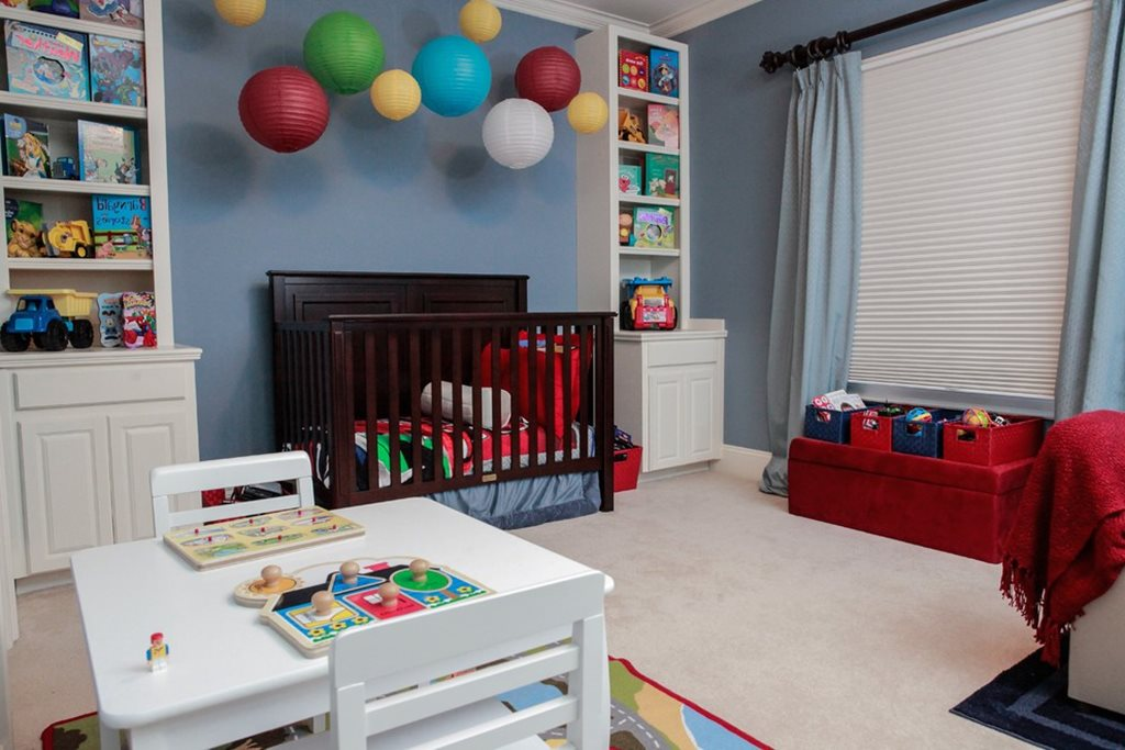 Nursery for a boy from birth to 10 years old - Bedroom ideas for 3 year old boy ...