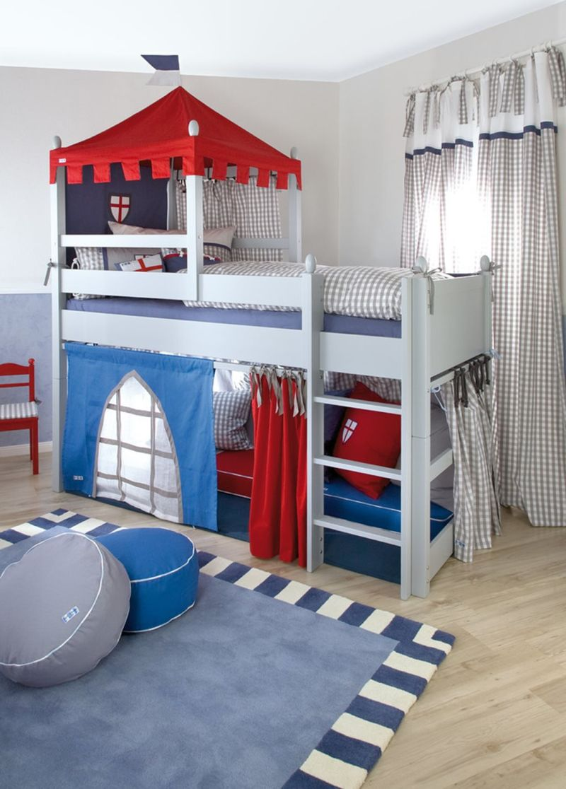 The Nursery for a Boy of 4-5 Years Old