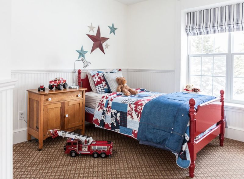 The Nursery for a Boy of 4 Years Old
