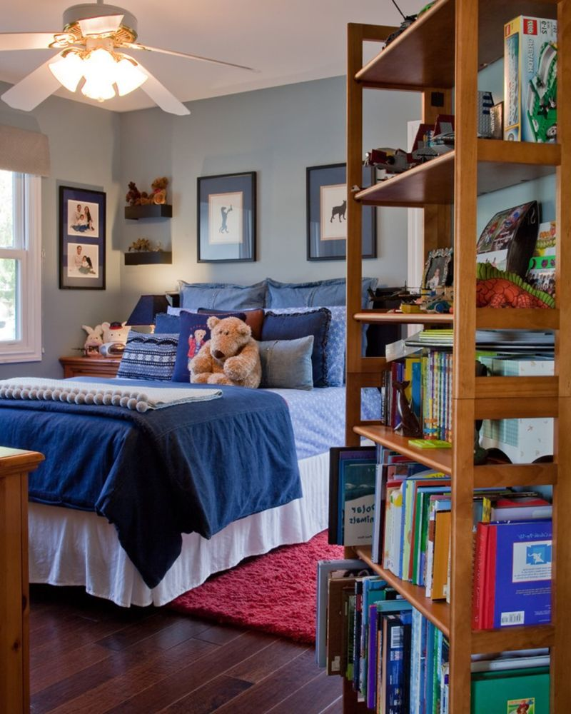 The Nursery for a Boy of 6-7 Years Old