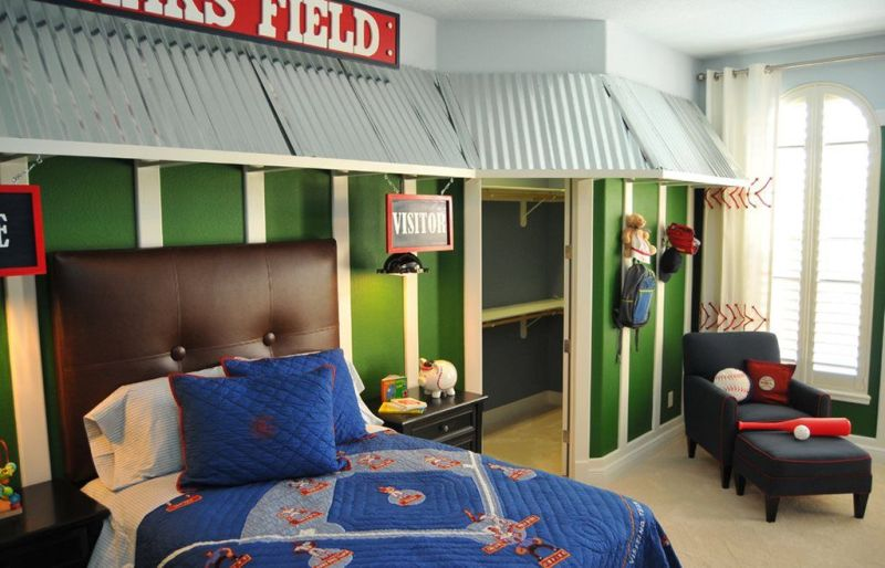 The Nursery for a Boy of 7-8 Years Old