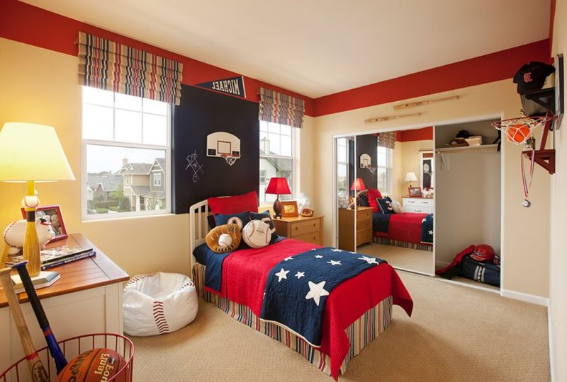 The Nursery for a Boy of 9-10 Years Old