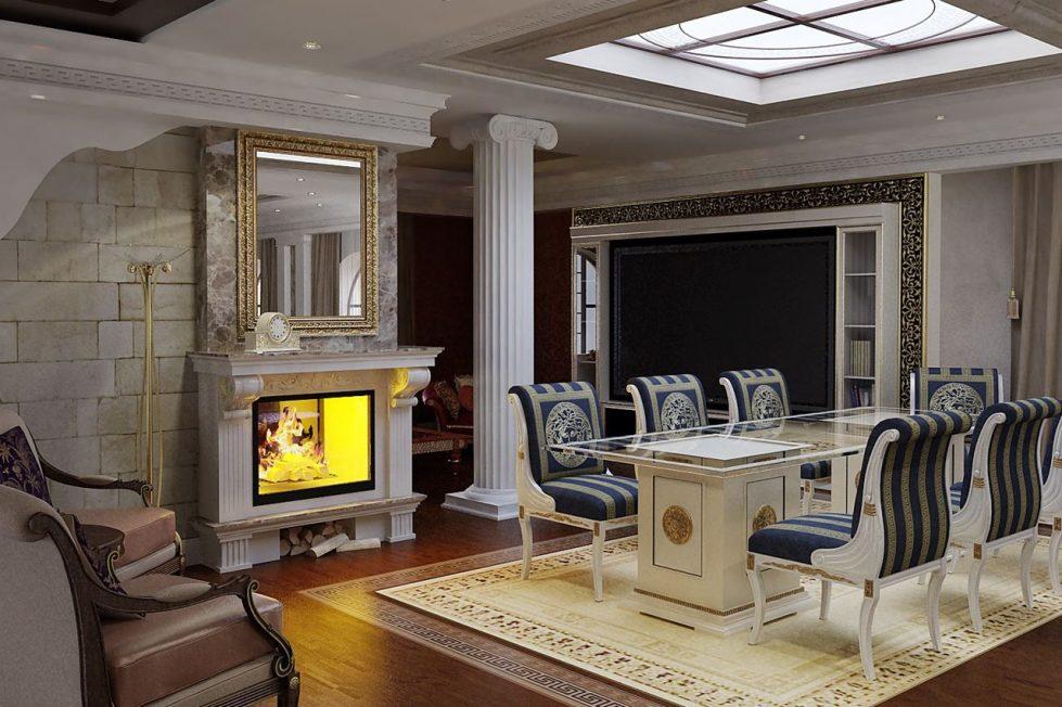 Antique Interior design - Dining room