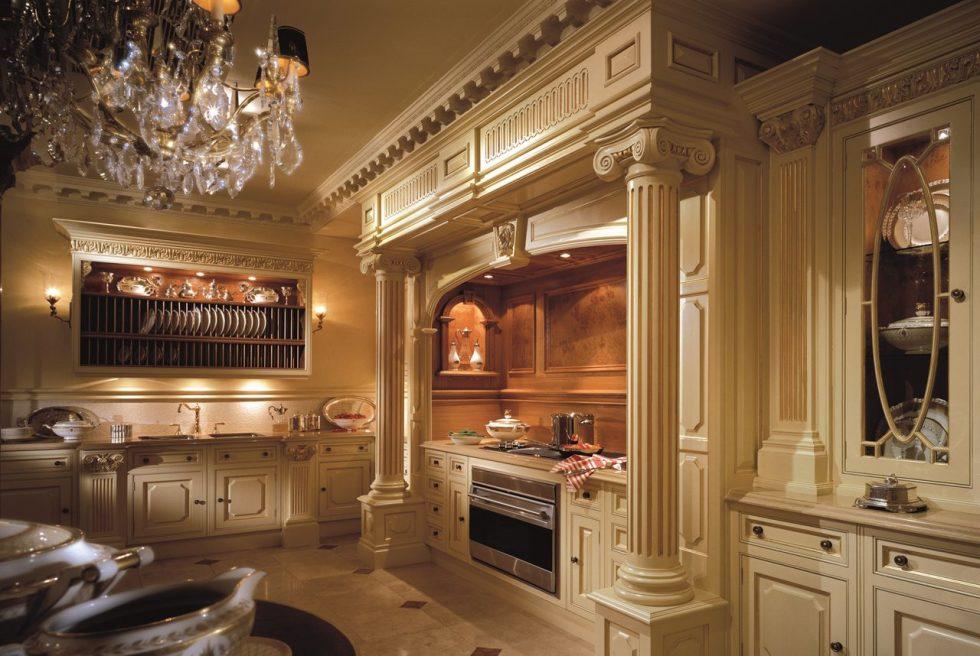 Antique Interior design - Kitchen