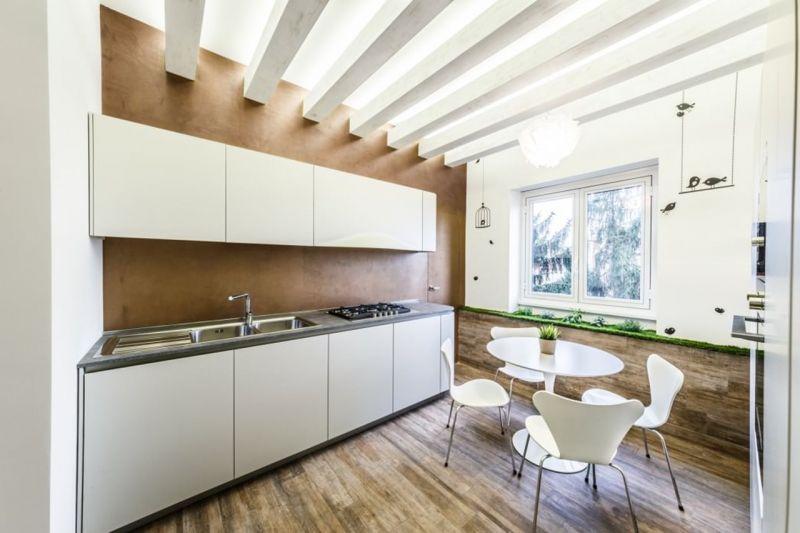 Apartment in Minimalistic Style - Kitchen