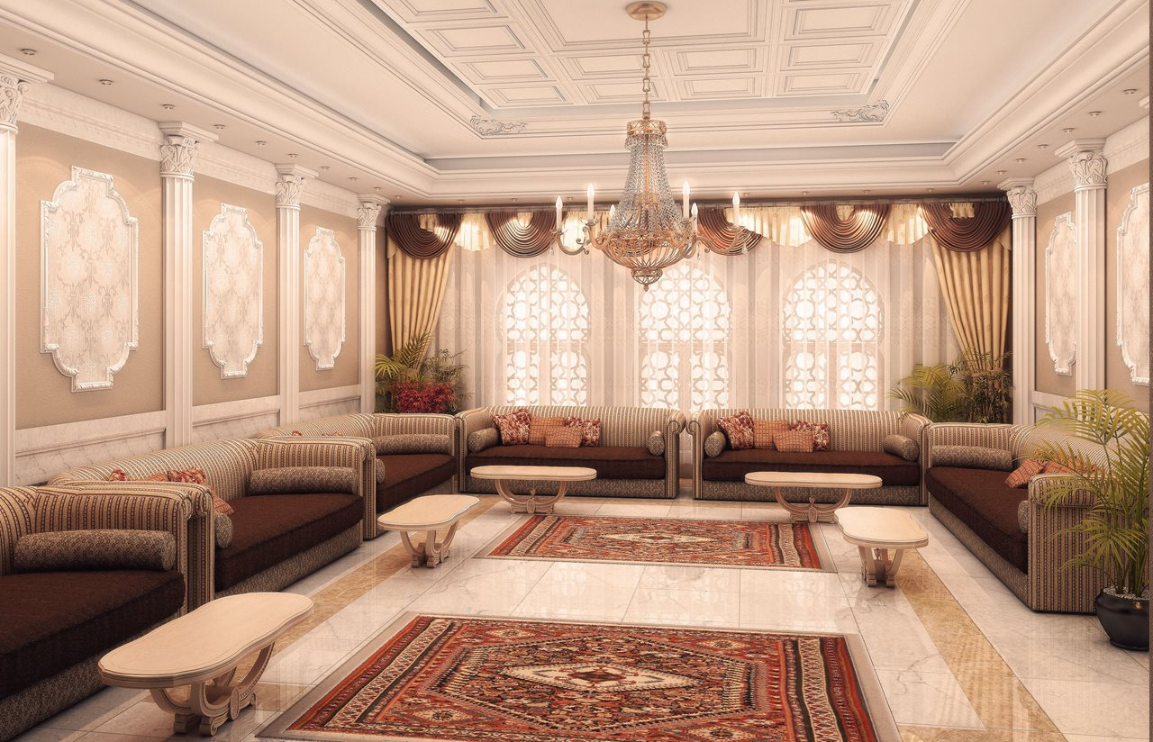 Arabian living room decor for Interior design looks