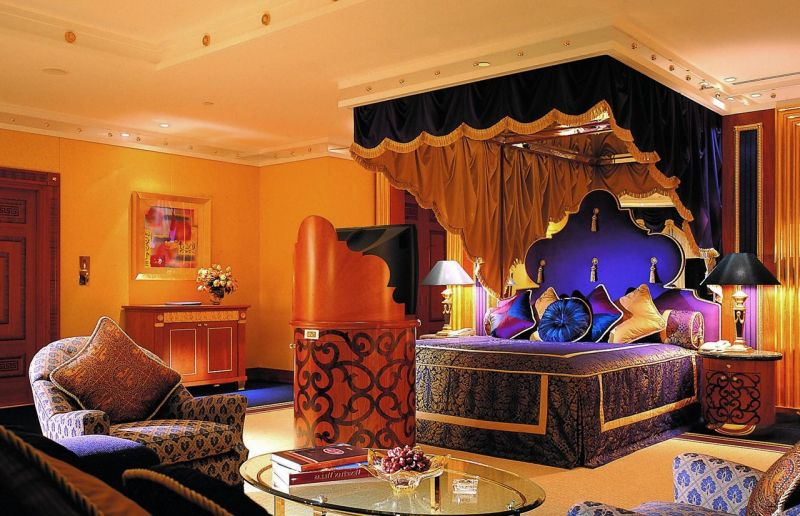 Arabic style interior design ideas for Arabian decoration