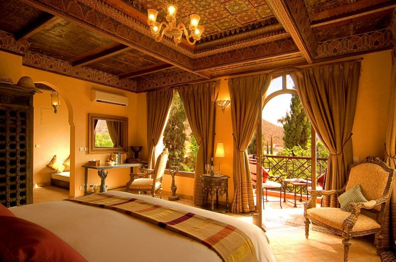 Arabic Style deluxe bedroom interior