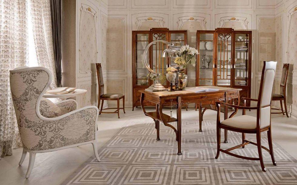 Art Nouveau Living room interior design