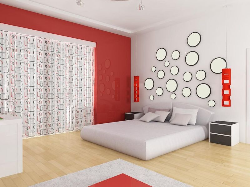 Avant garde Interior design - bedroom