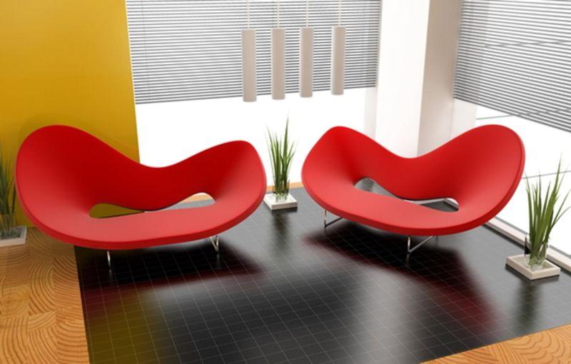 Beau Avant Garde Interior Design   Living Room ...