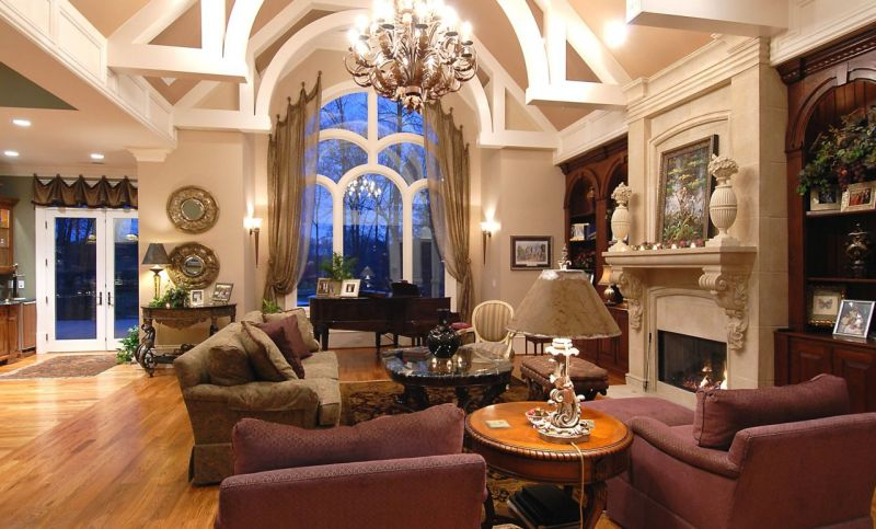 Awesome Classic Interior Design - Living room