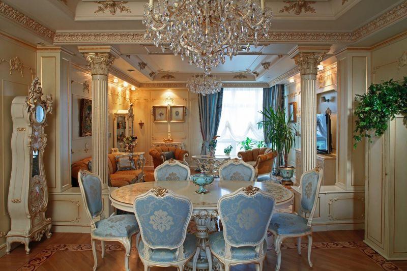 Baroque Style Interior design - Dining room