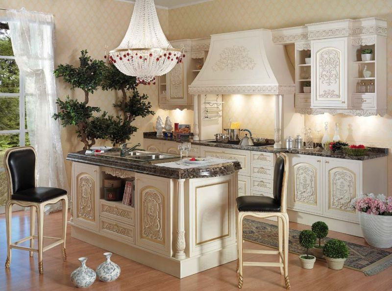 Baroque Style Interior design - Kitchen