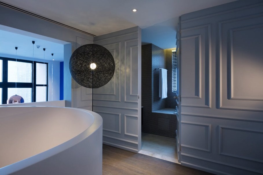 Blue Penthouse - Bathroom