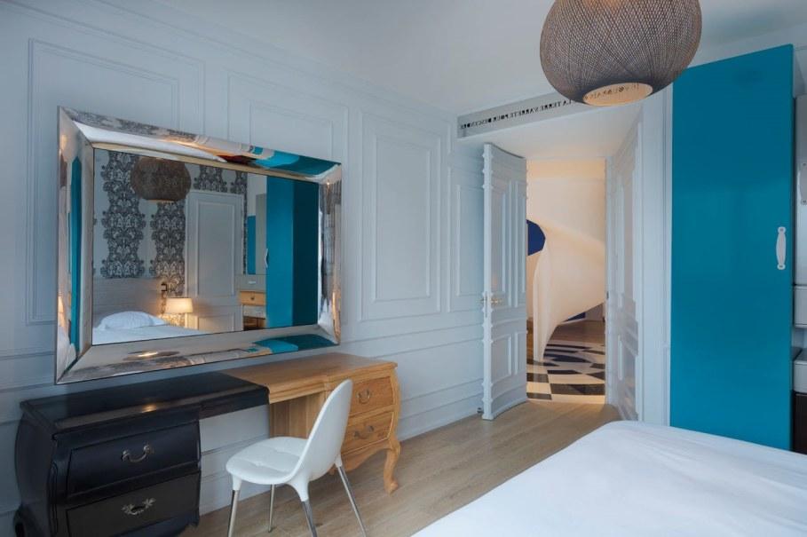 Blue Penthouse - Bedroom