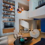 Blue Penthouse In Shanghai