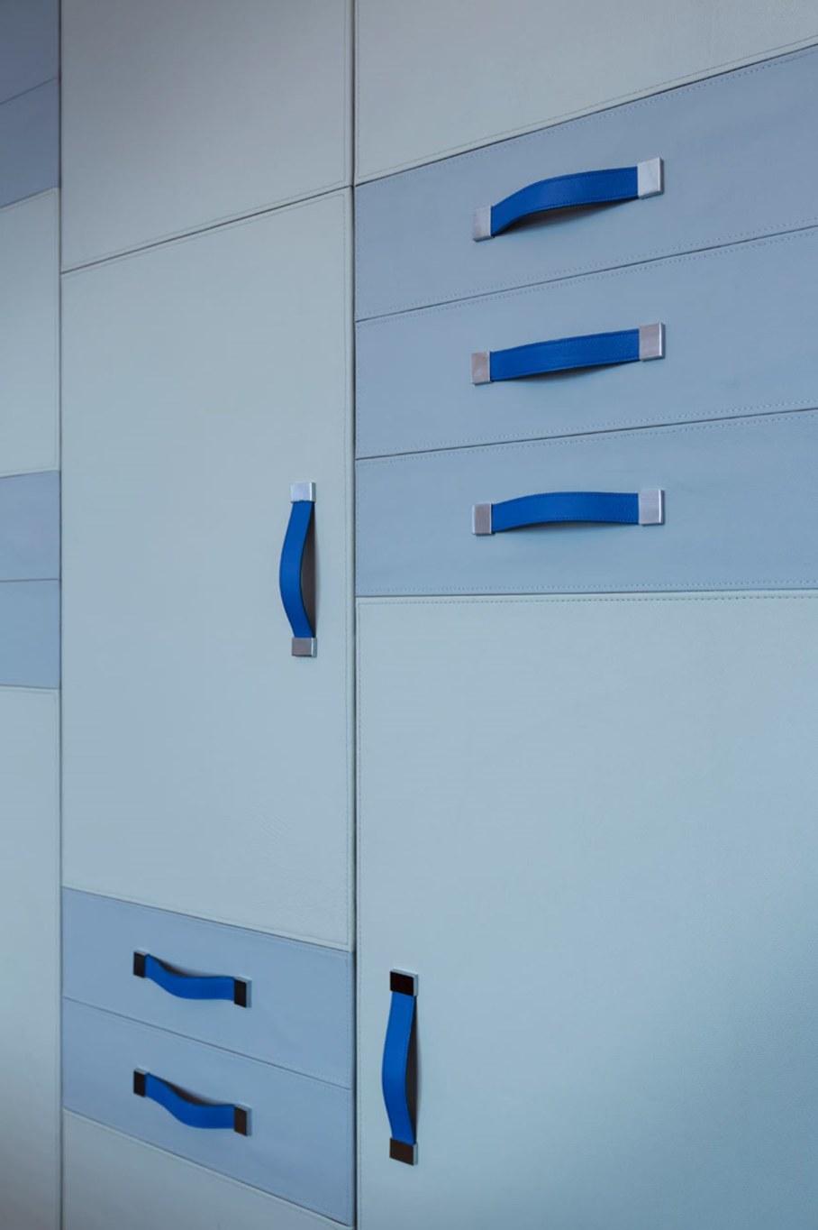 Blue Penthouse - blue Bedroom 2