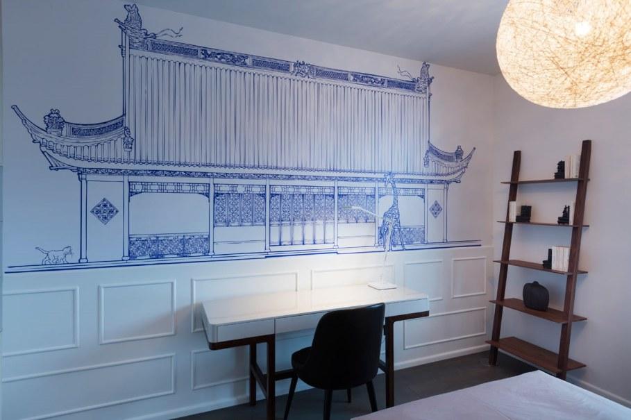 Blue Penthouse - blue Bedroom