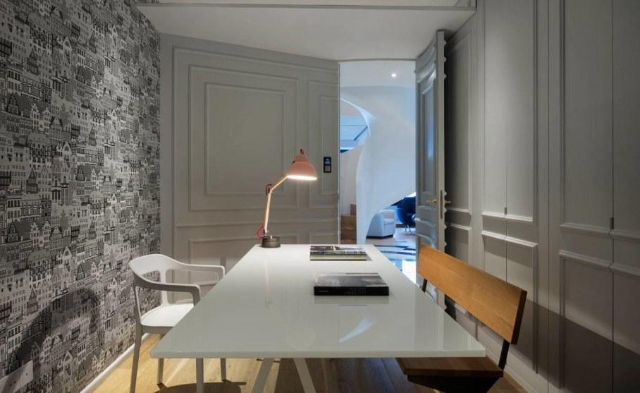 Blue Penthouse - interior design ideas