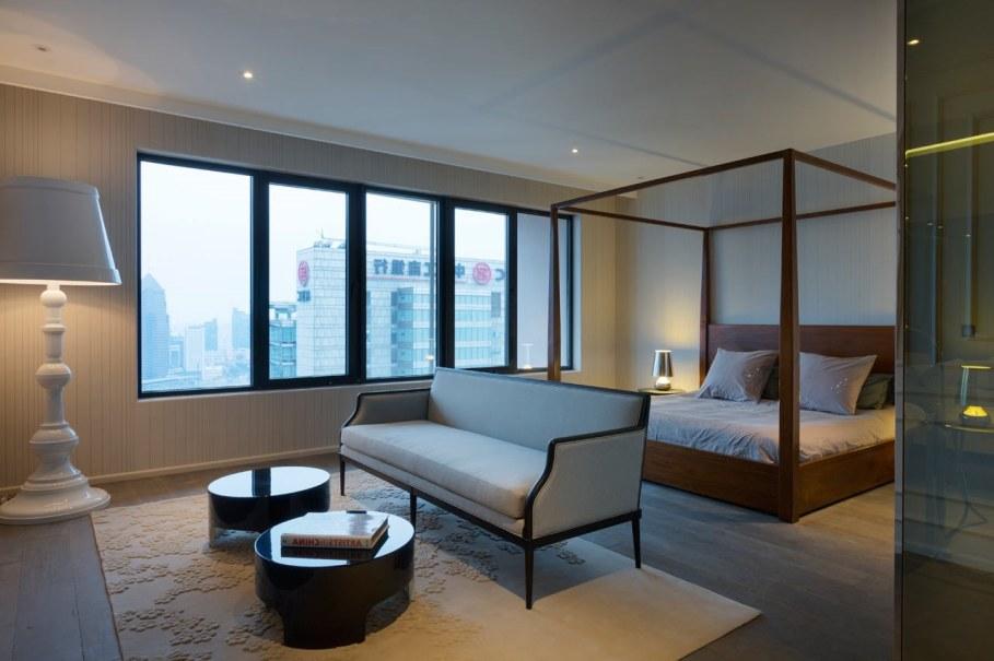 Blue Penthouse - master bedroom
