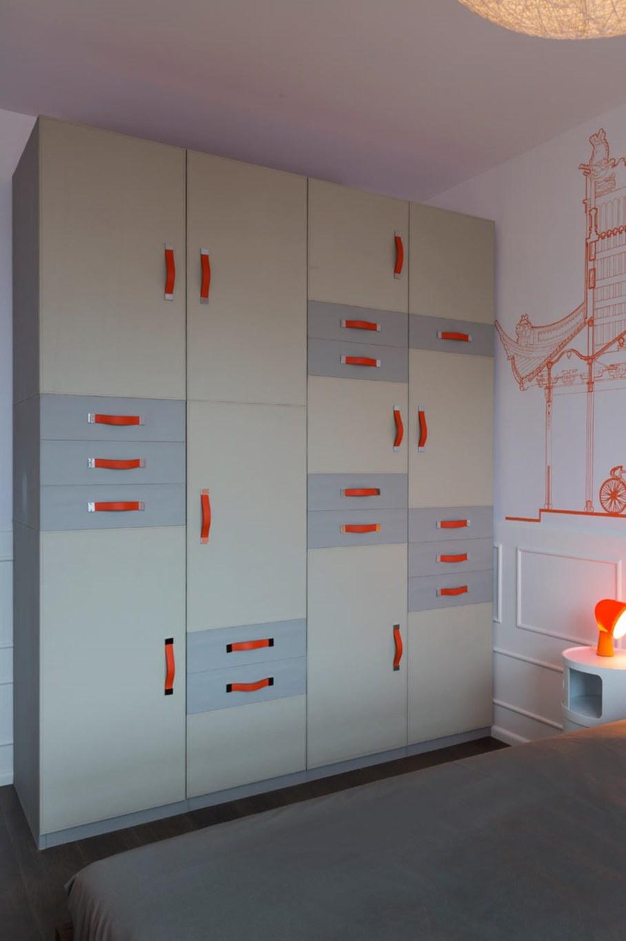 Blue Penthouse - orange Bedroom 2