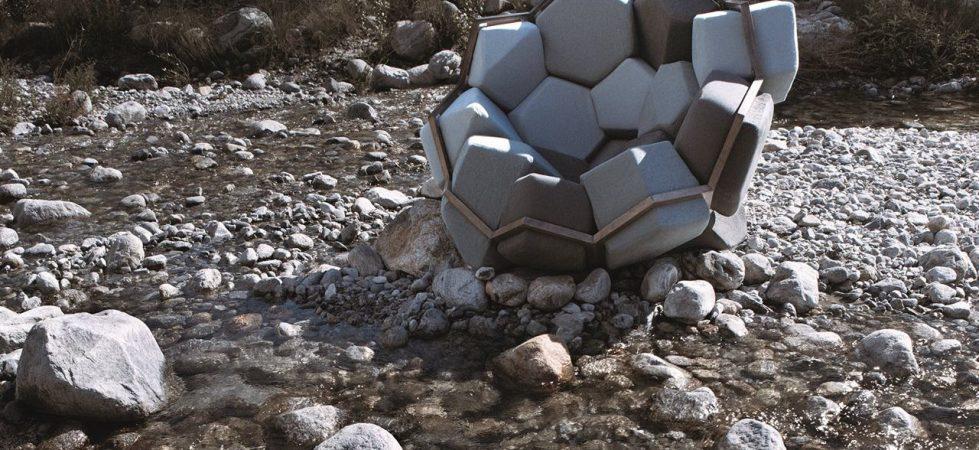 «Quartz»:TheCrystal ImagedArmchair