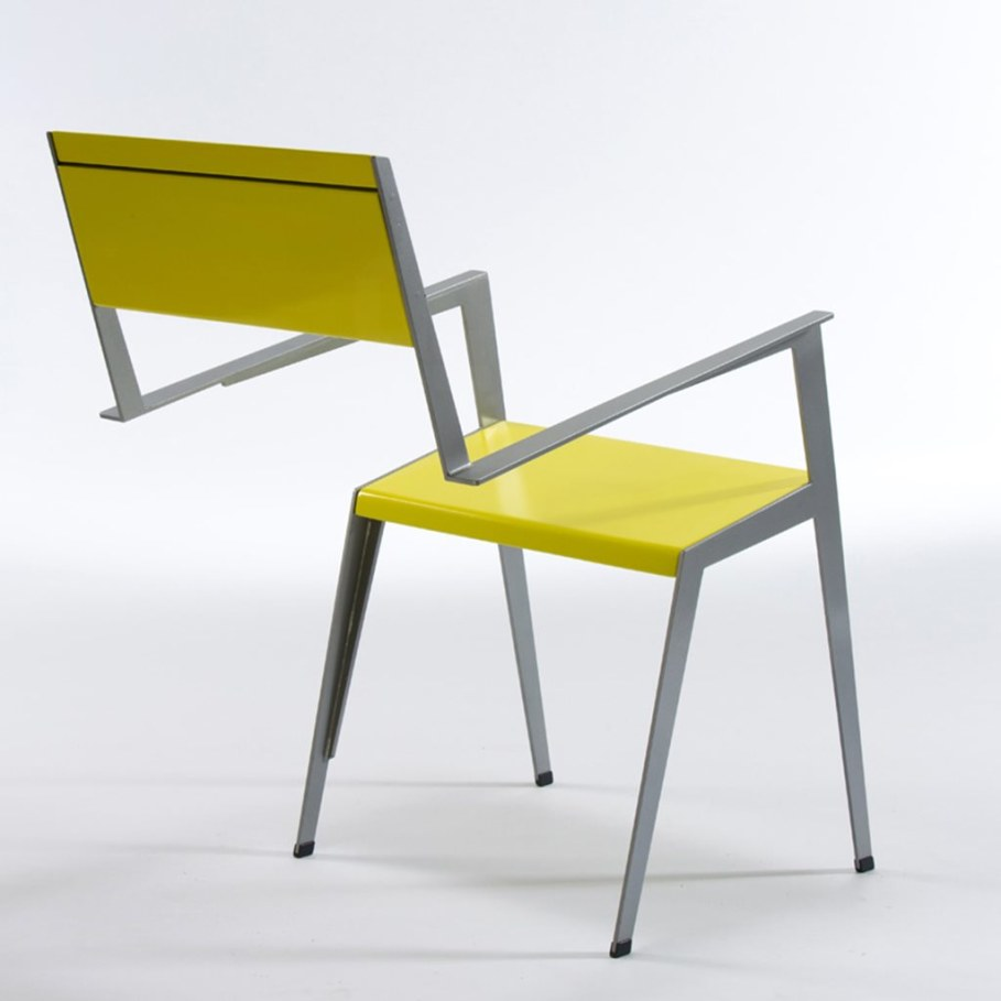 Chair from Shmuel Bazak - back view