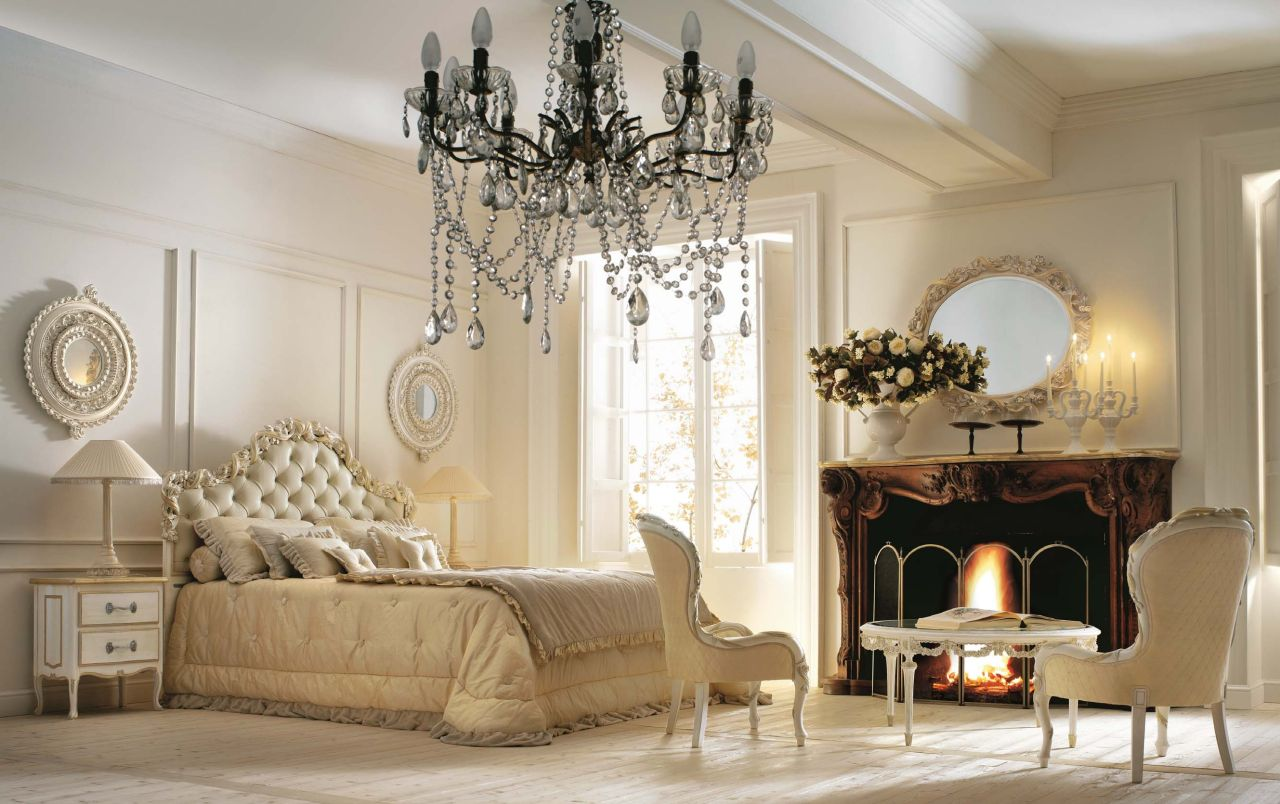 Classic style interior design ideas for Bedroom decor styles