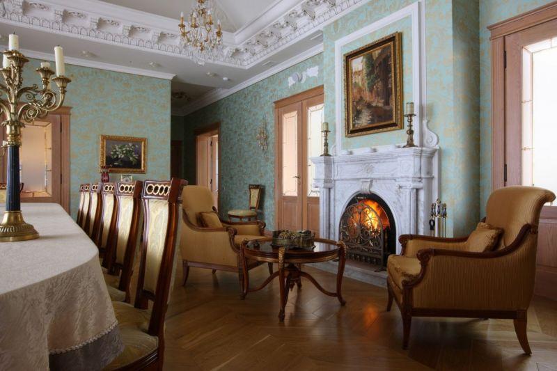 Classical style Living room interior design