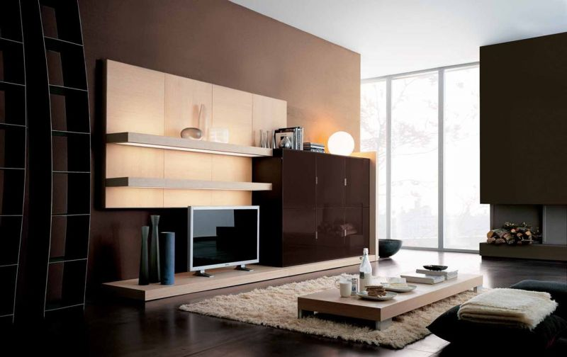 Constructivism Style Interior design - Living room