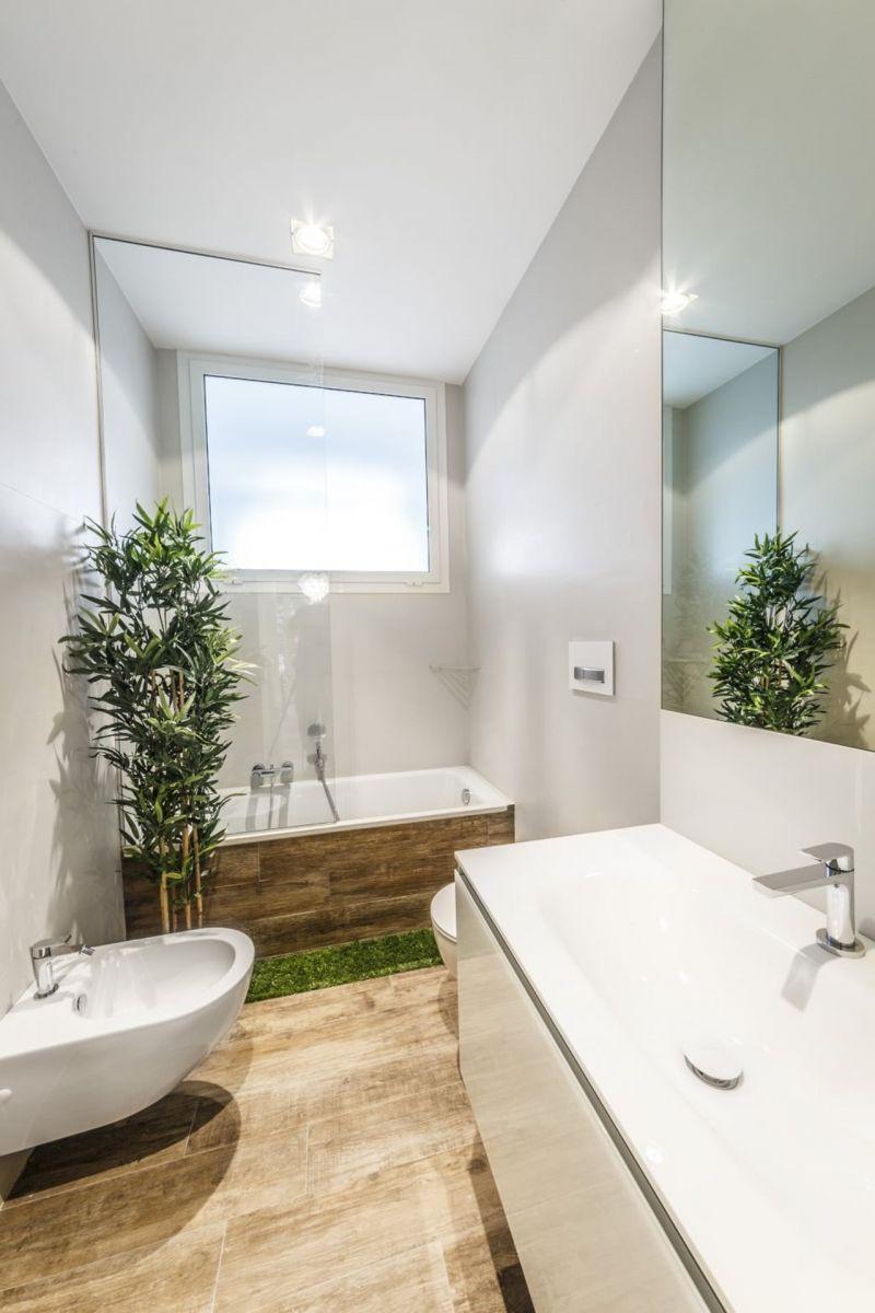 Design of the Apartment in Minimalistic Style - Bathroom