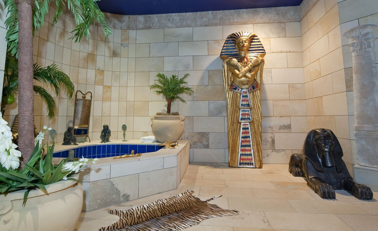 Egyptian style interior design ideas for Art decoration