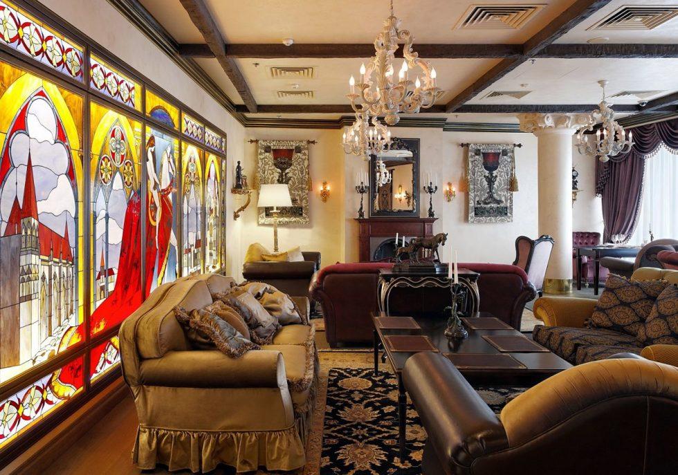 Gothic Style Interior design - Living room