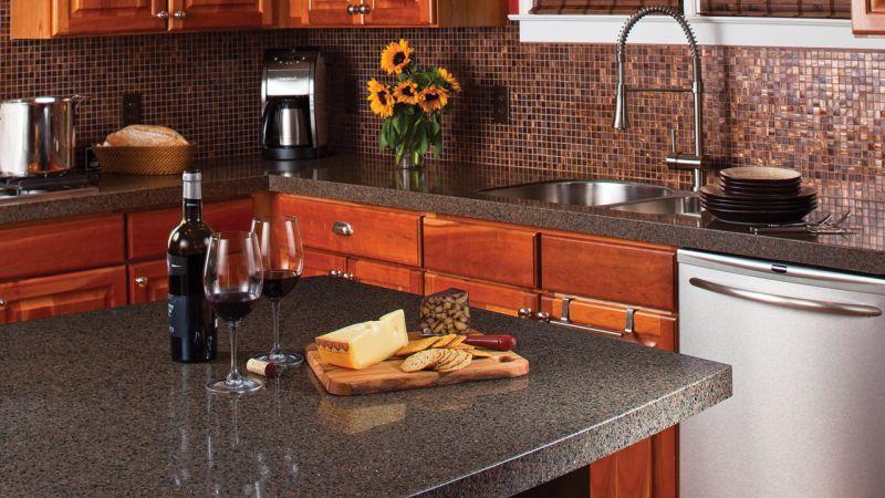 Inspirations Kitchen Laminated Countertop Design