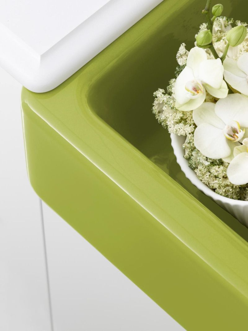 Kitchen Design Ideas - Fresh Hues for Sinks
