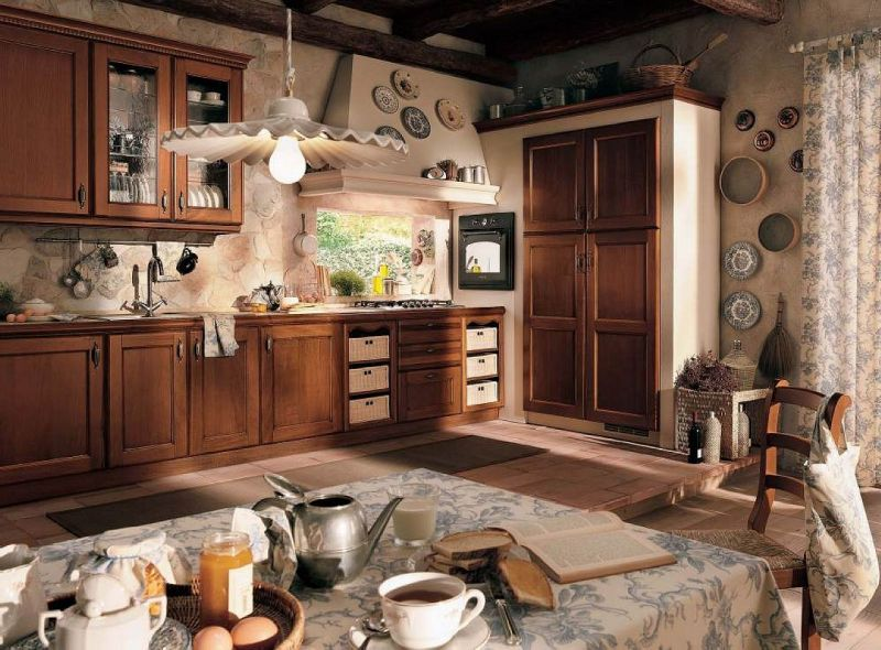 Kitchen Vintage Interior design